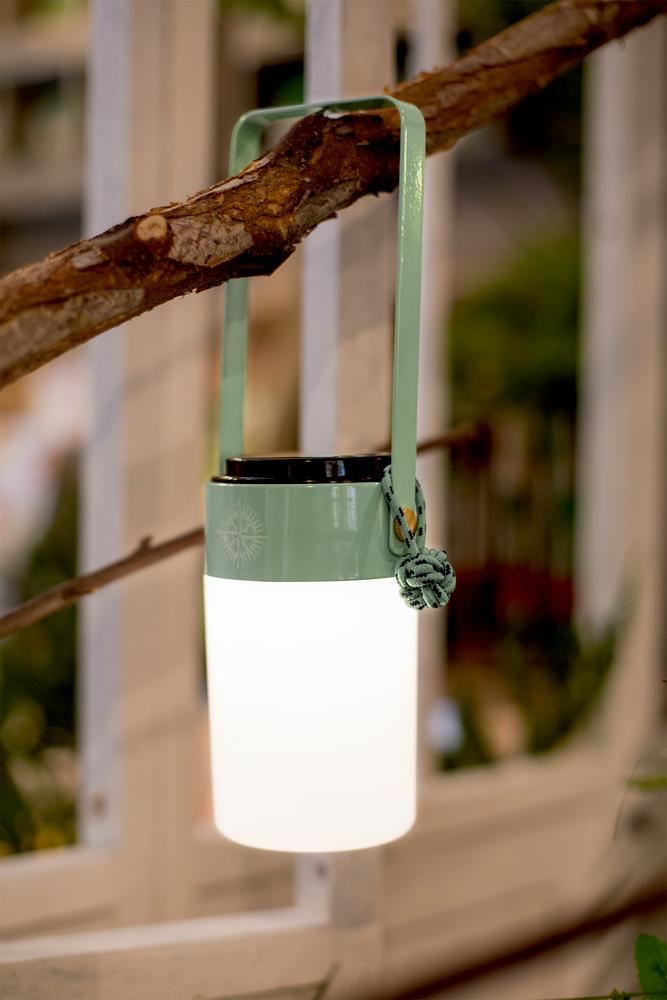LED-Dekoleuchte Reisezeit