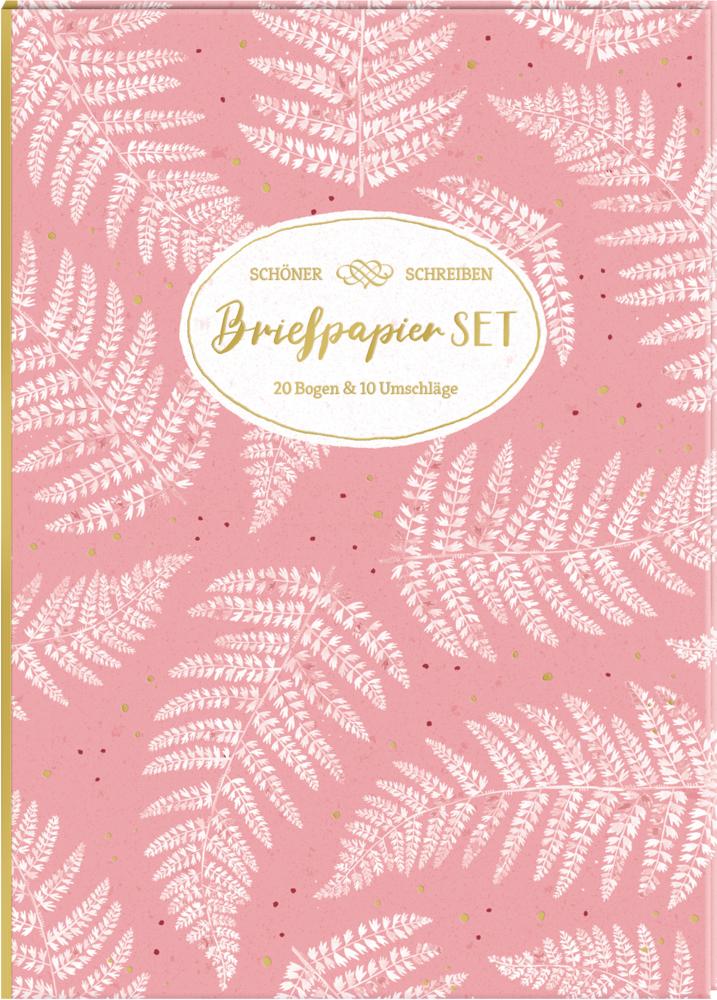 Briefpapier-Set - All about rosé