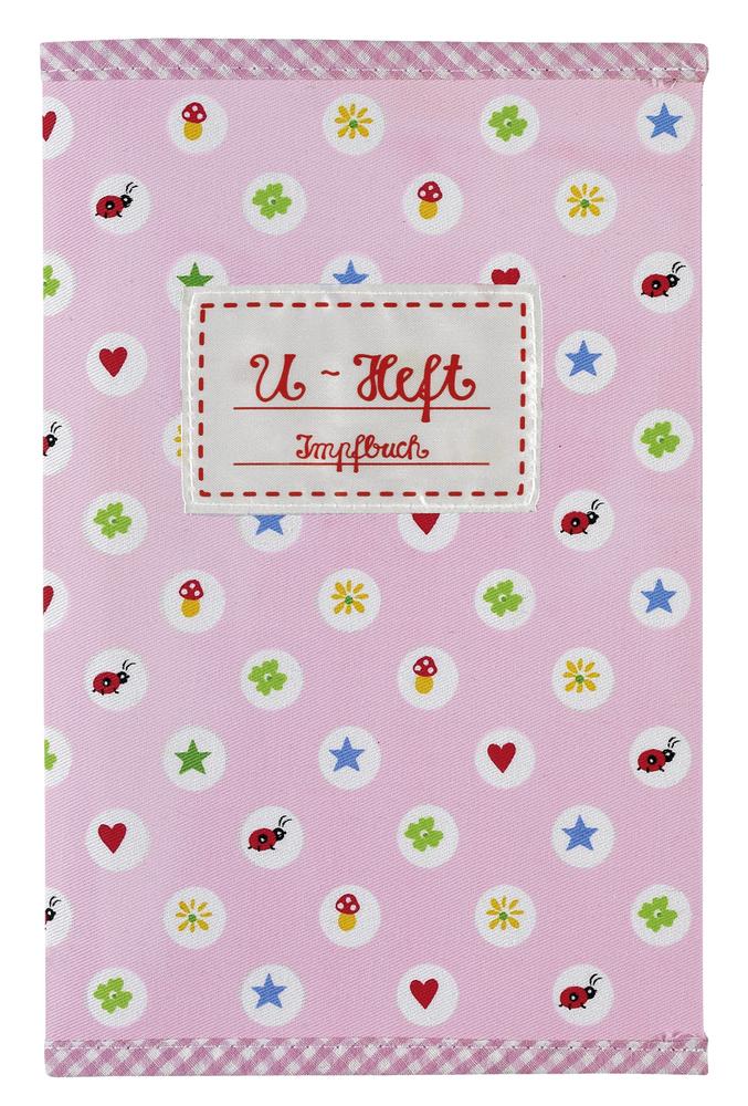 U-Heft Hülle BabyGlück, rosa