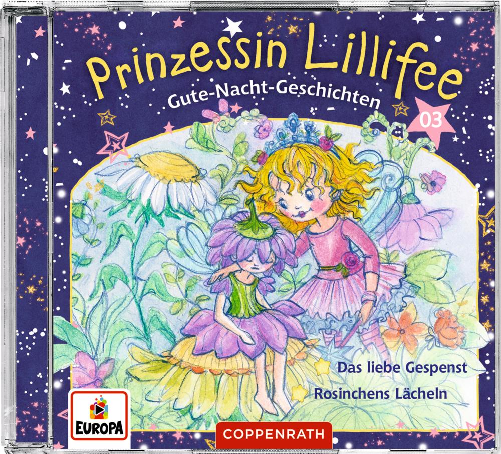 CD Hörspiel: Prinzessin Lillifee - Gute-Nacht-Geschichten (Band 3)