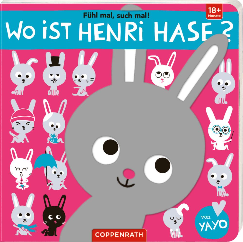 Fühl mal, such mal! Wo ist Henri Hase?