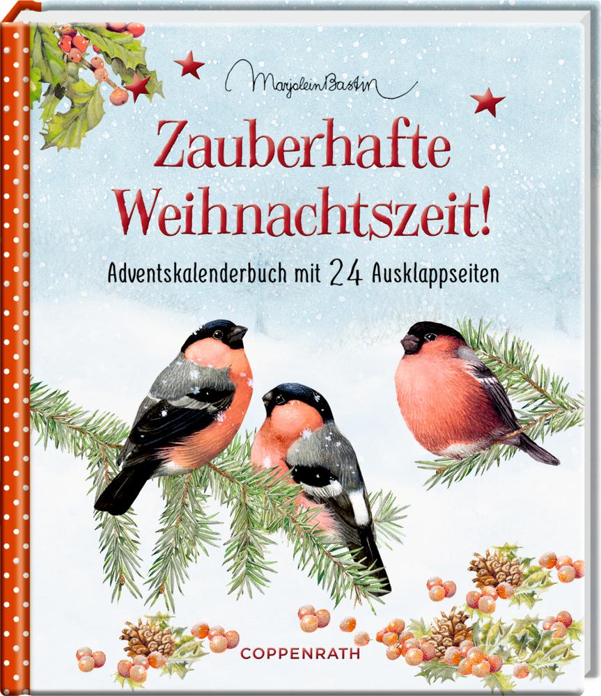 Adventskalenderbuch: Zauberhafte Weihnachtszeit! (M.Bastin)