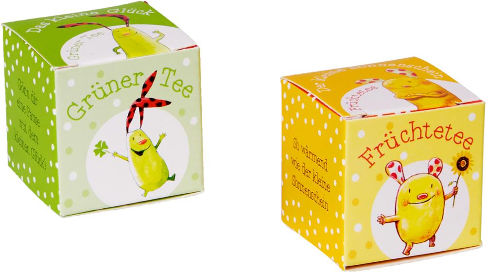 """Tee-Genuss """"Das kleine Glück"""" & """"Der kleine Sonnenschein"""""""