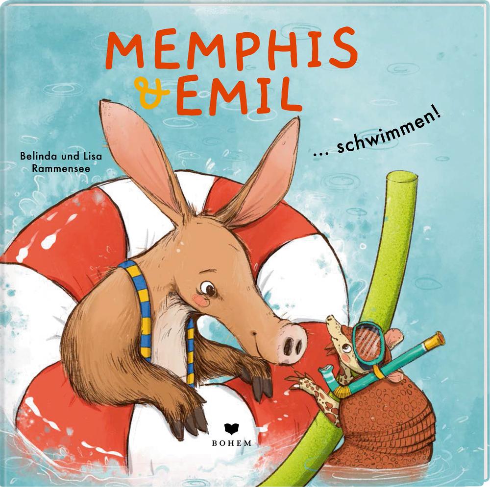 Memphis & Emil ... schwimmen!