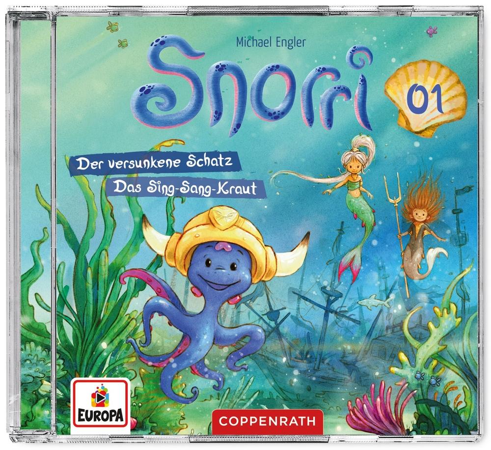 CD Hörspiel: Snorri (Bd.1) - Der versunkene Schatz & ...
