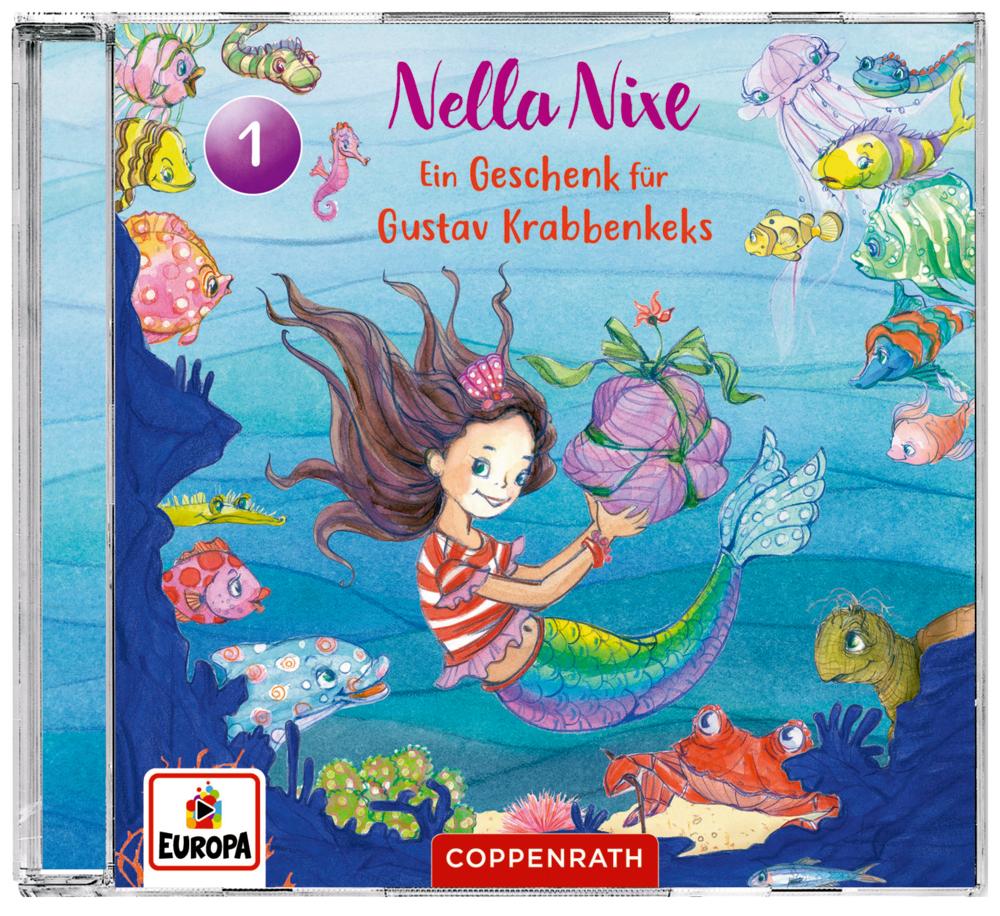 CD Hörspiel: Nella Nixe (Bd.1) Ein Geschenk für Gustav Krabbenkeks