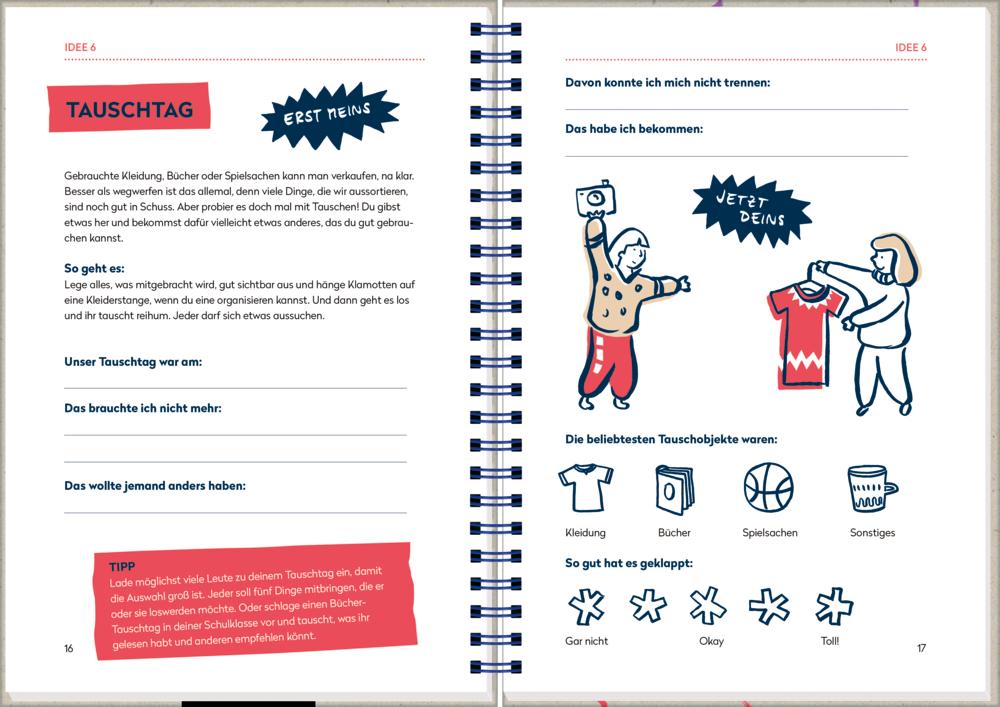 Meine Bessermacher-Projekte - Eintragbuch