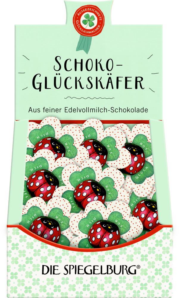 "Schoko-Glückskäfer ""Viel Glück für dich"""