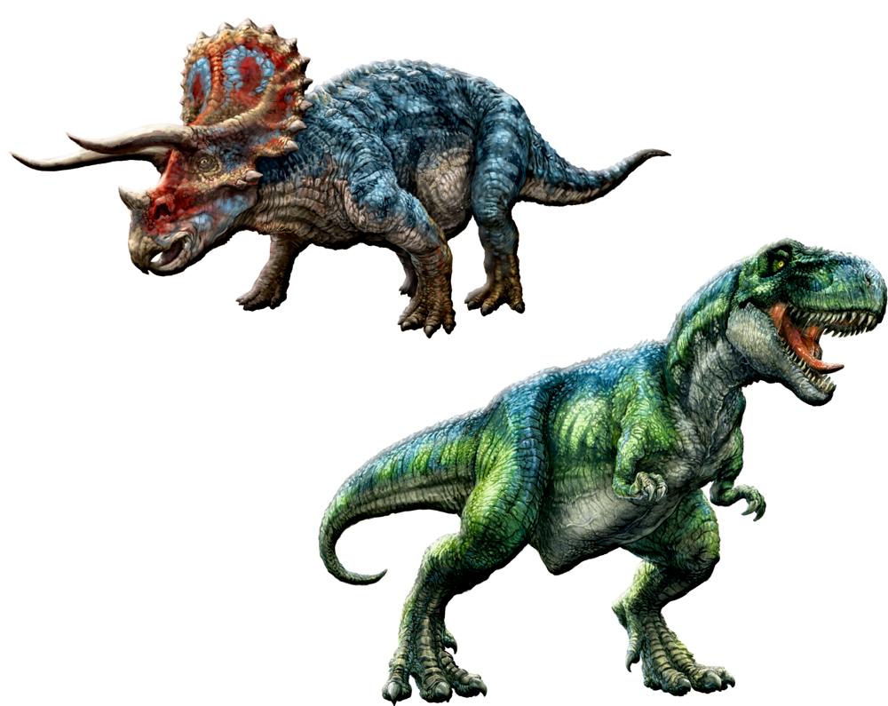 Glow in the Dark Sticker  T-Rex World