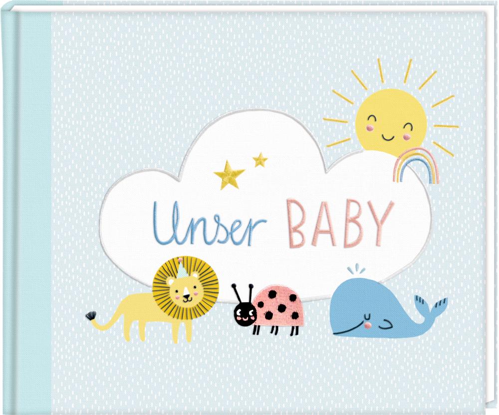 Eintragalbum Meine kleine Welt - Unser Baby!