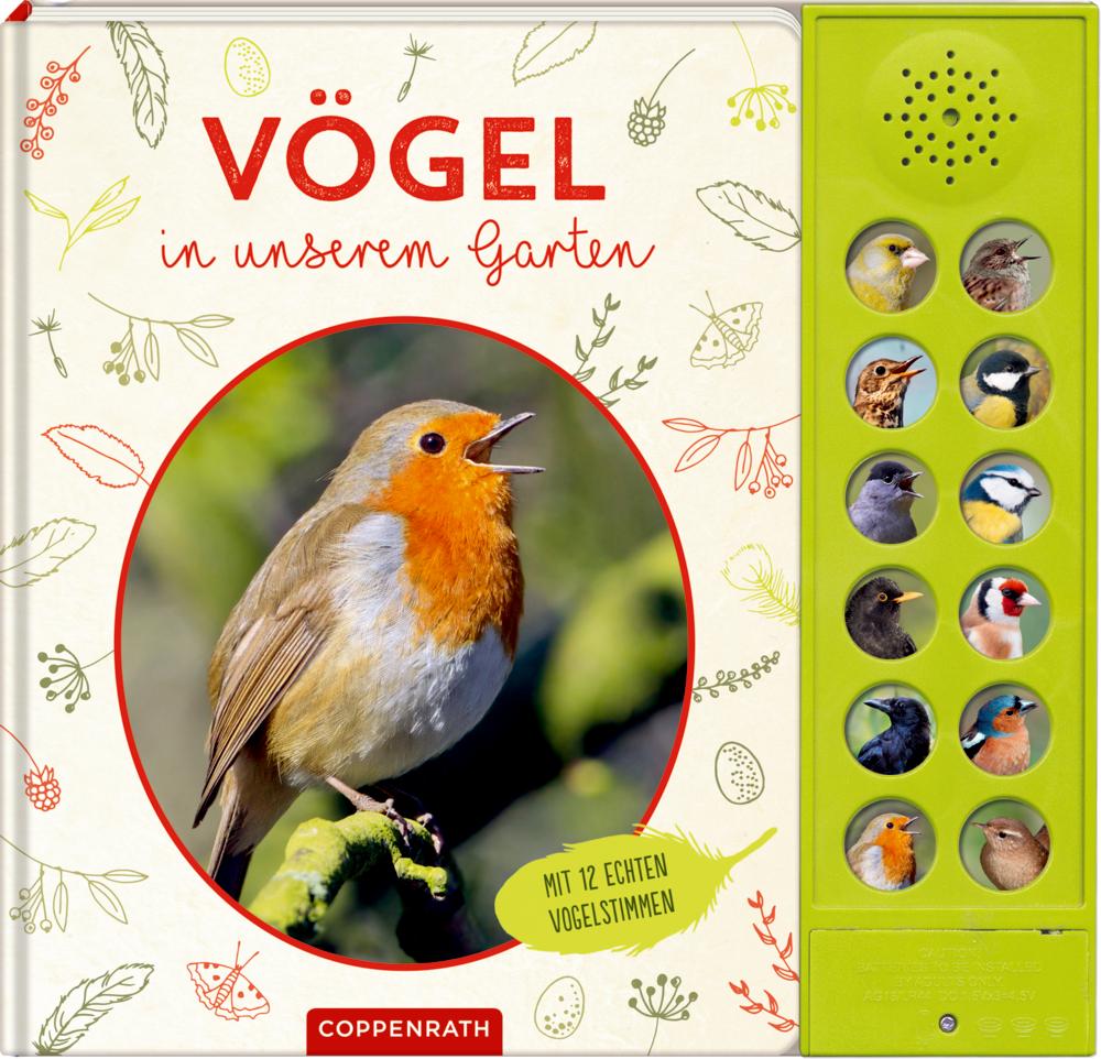 Vögel in unserem Garten (Soundbuch)