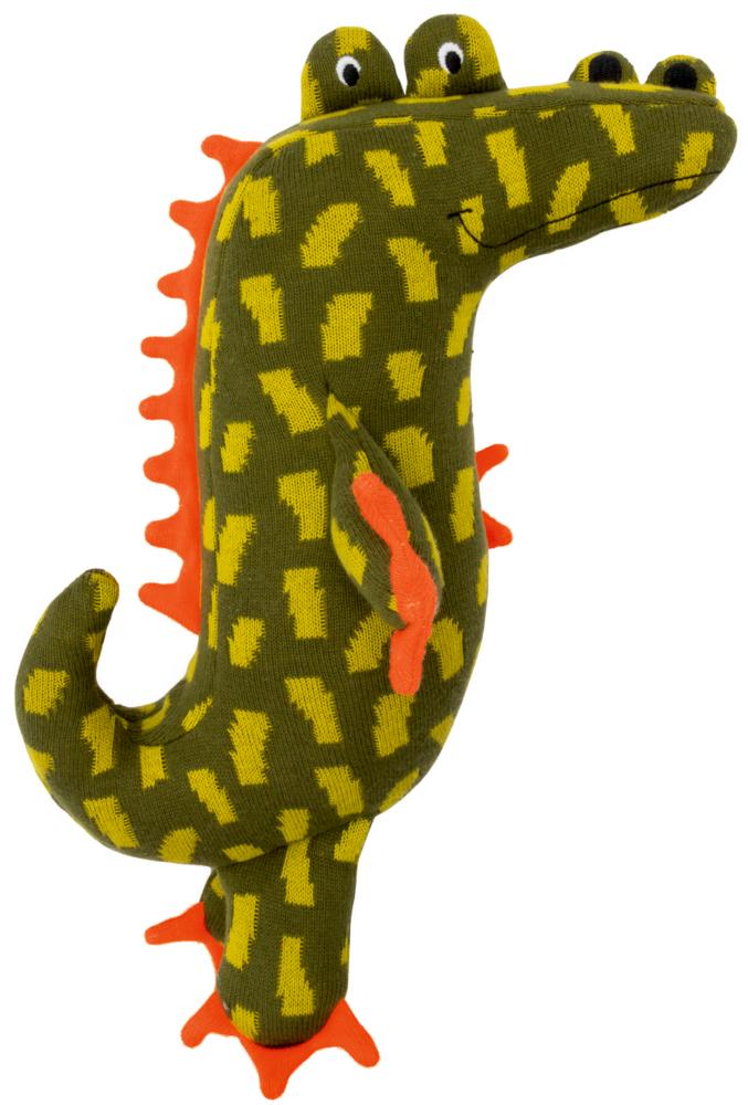 Mittelgroßes Kuschel-Stricktier Krokodil, Meine 1. Lieblingsstücke