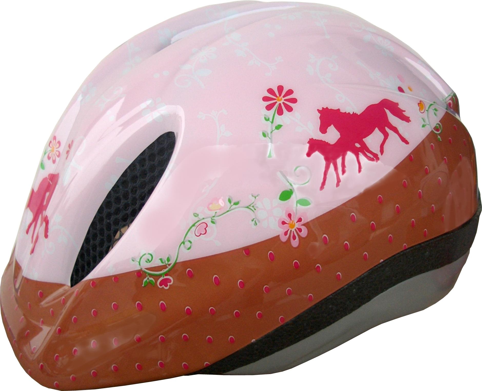 Fahrradhelm Gr. S (46-51 cm) Pferdefreunde (Marke Bike Fashion)