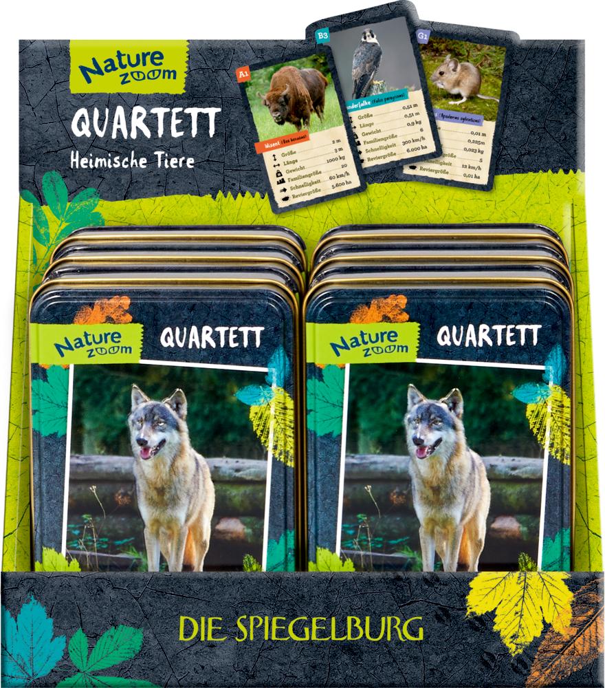 Quartett (Heimische Tiere) Nature Zoom