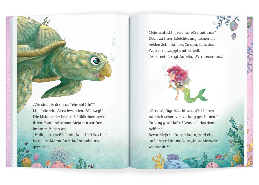 Meja Meergrün (Bd.2/Leseanfänger) - Ein blubbertoller Schulausflug