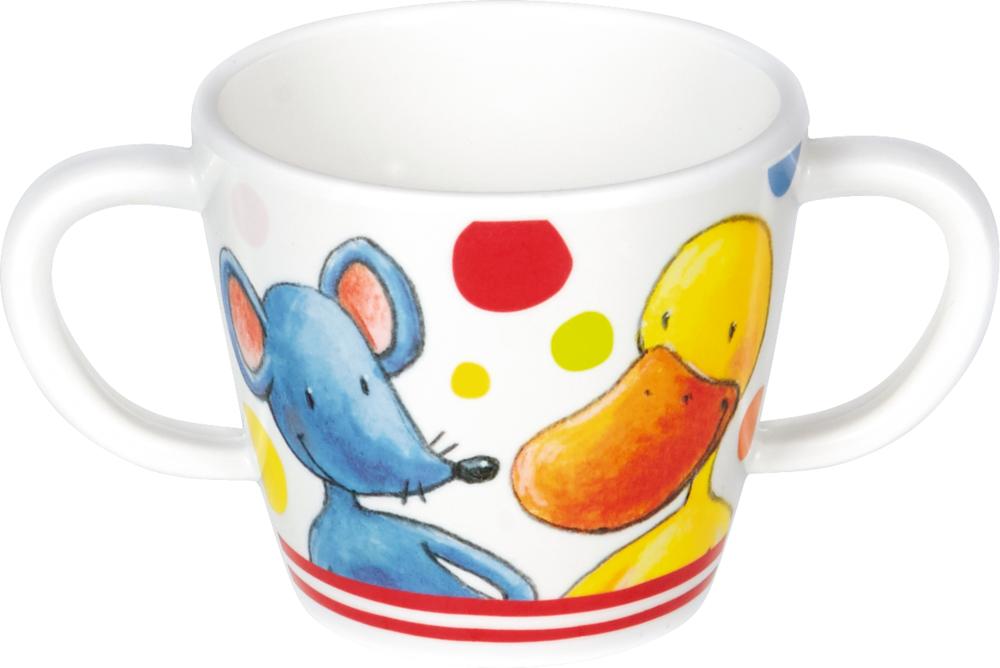 Melamin-Tasse mit 2 Henkeln  Die Lieben Sieben