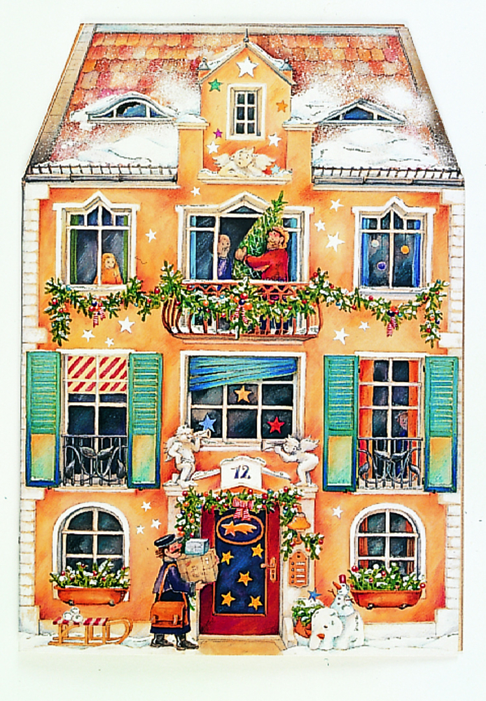 Im Weihnachtshaus, Adventskalender