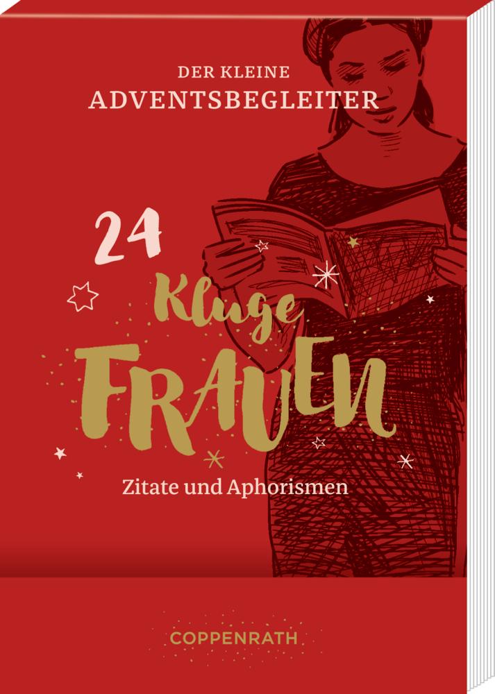 Der kleine Adventsbegleiter Kluge Frauen, Aufstell-Adventskalender