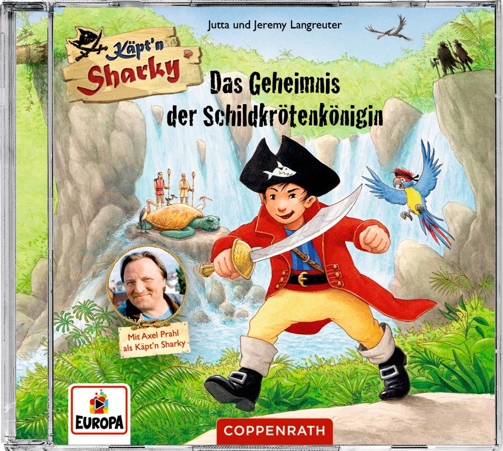 CD Hörspiel: Käpt'n Sharky - Das Geheimnis der Schildkrötenkönigin