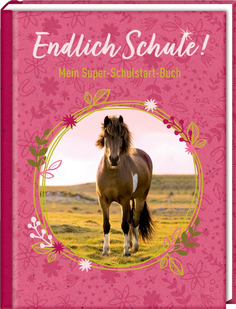 Kleines Geschenkbuch: Endlich Schule! Pferdefreunde