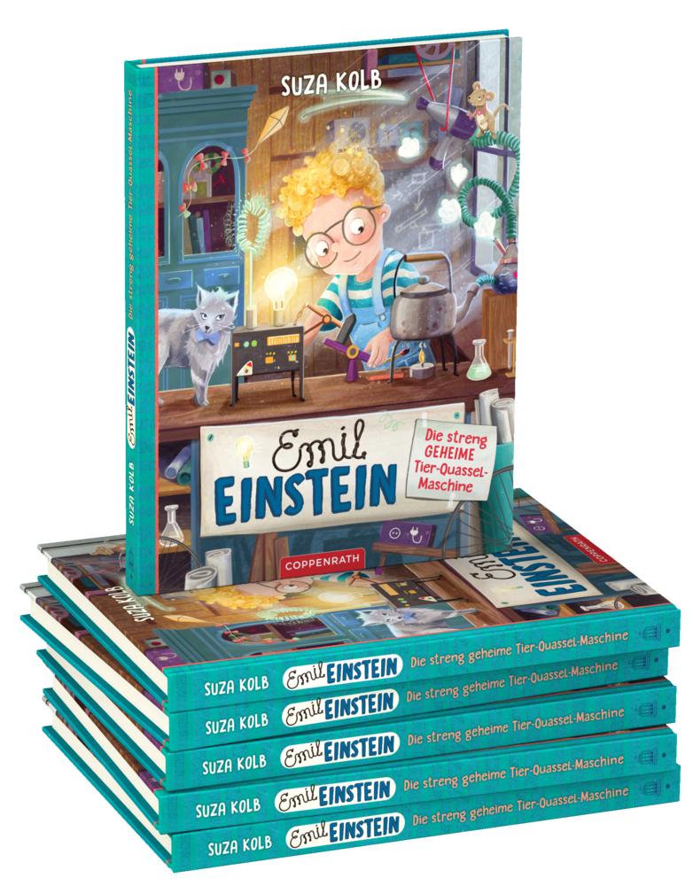 Emil Einstein (Bd.1) Die streng geheime Tier-Quassel-Maschine