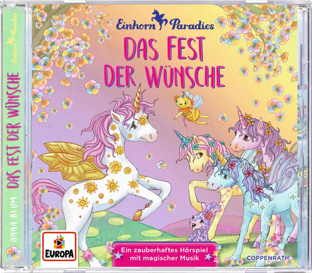CD Hörspiel: Einhorn-Paradies (Bd. 3) - Das Fest der Wünsche
