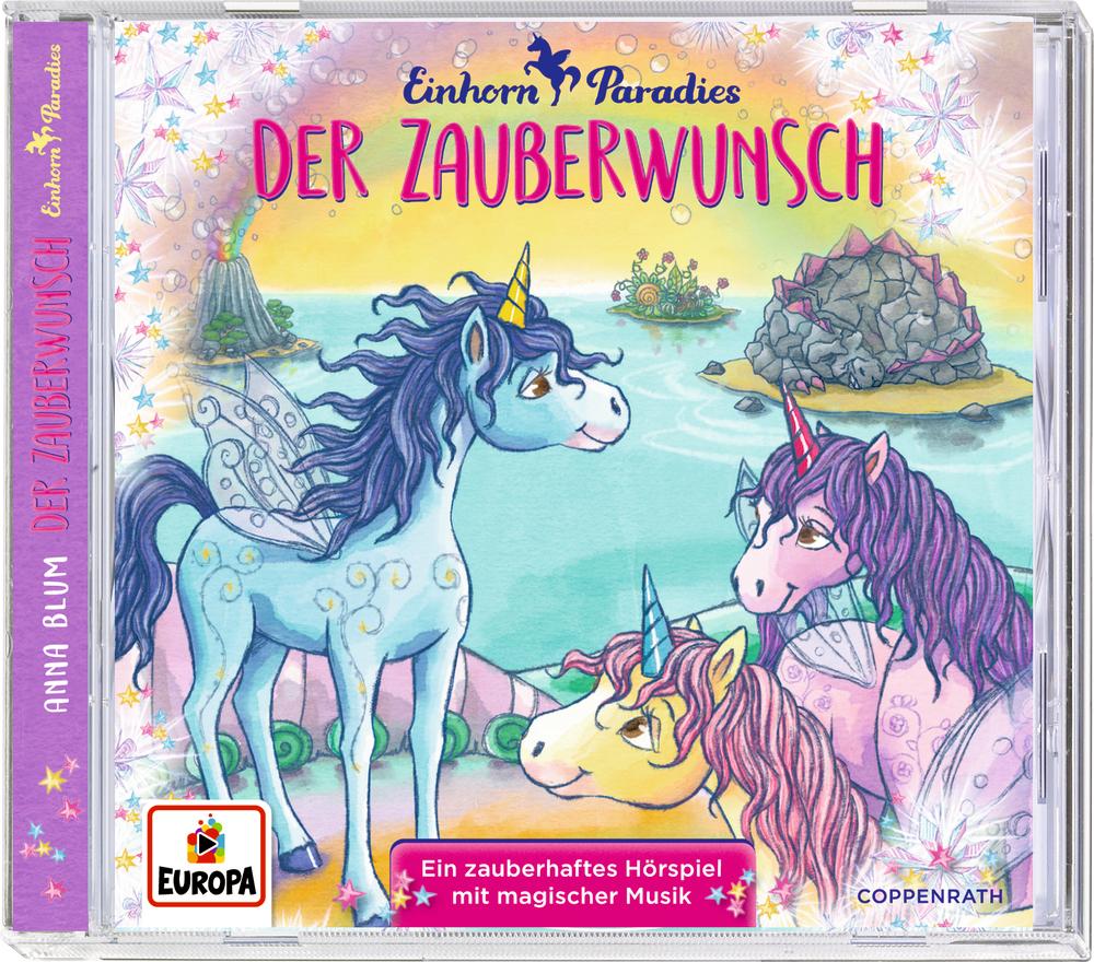 CD Hörspiel: Einhorn-Paradies (Bd. 1) - Der Zauberwunsch