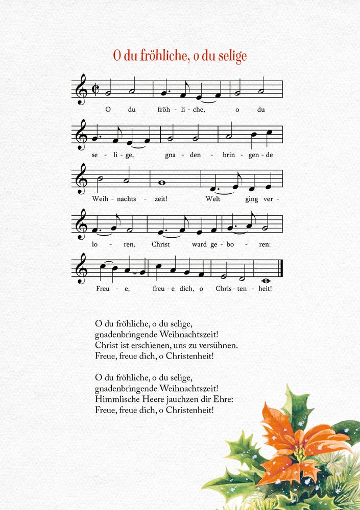 Kleine Schmuckausgabe: Frohes Fest! (M. Bastin)