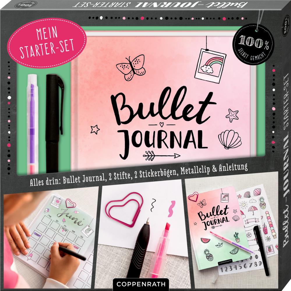 Mein Bullet-Journal Starter-Set (100% selbst gemacht)