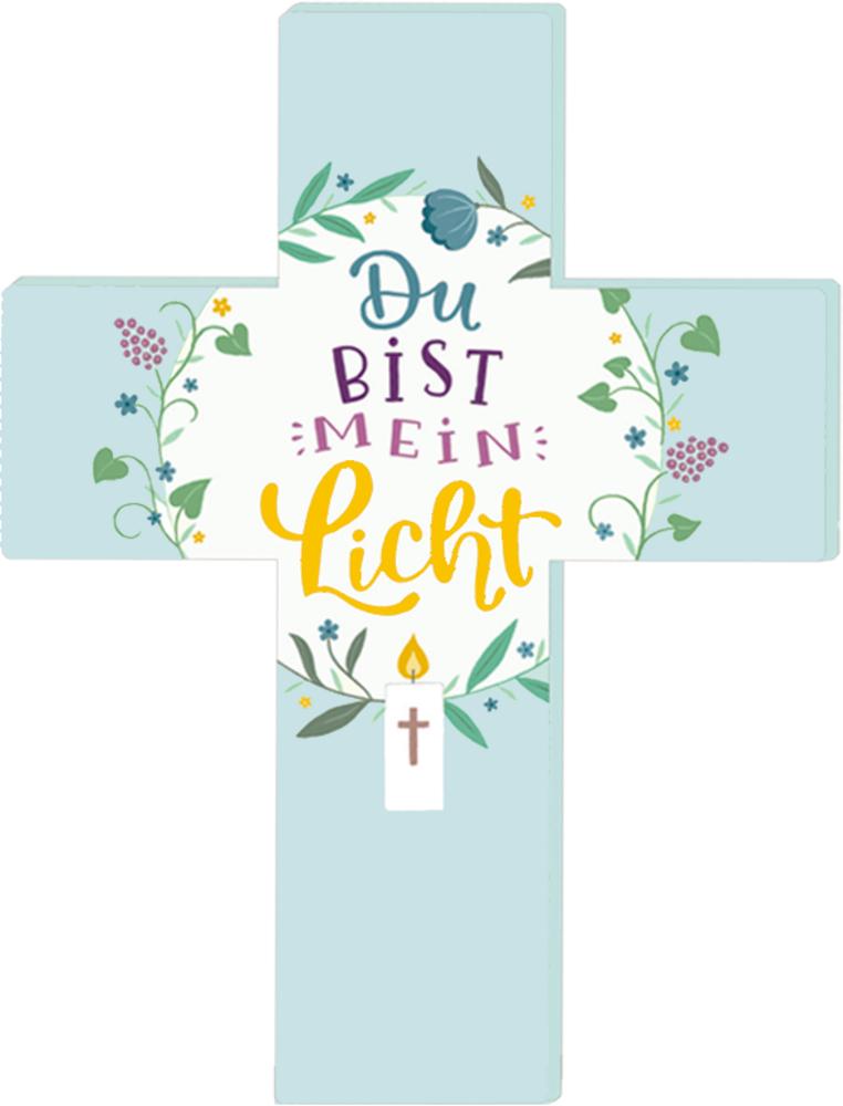 Aufstellkreuz - Du bist mein Licht