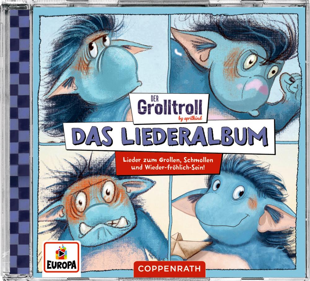 Musik CD: Der Grolltroll - Das Liederalbum