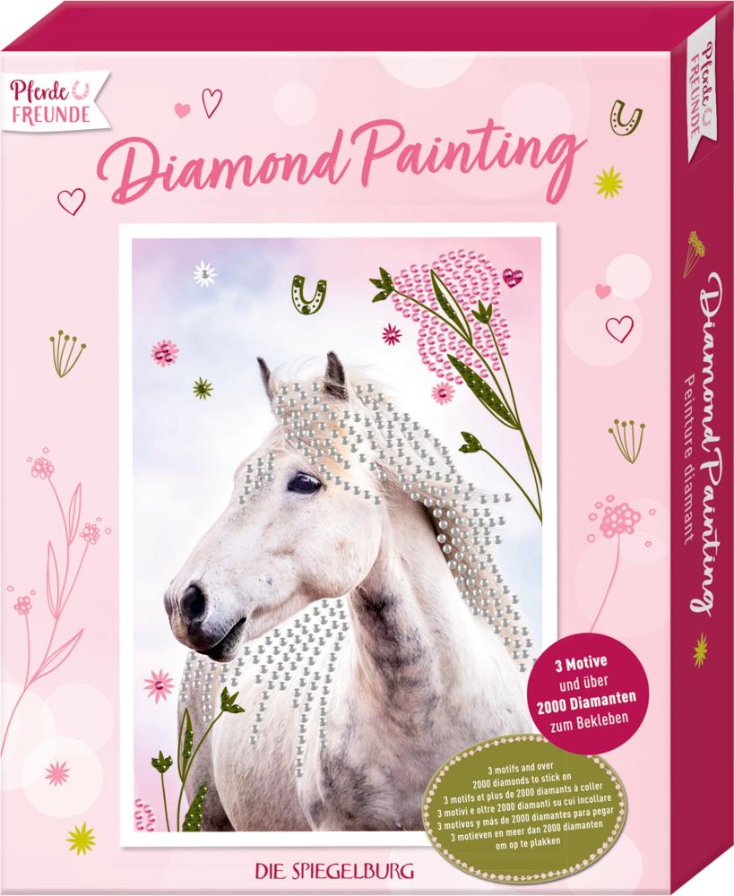 Diamond Painting Pferdefreunde