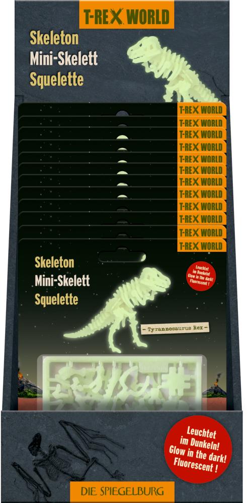 Nachtleuchtendes 3D Puzzle T-Rex World