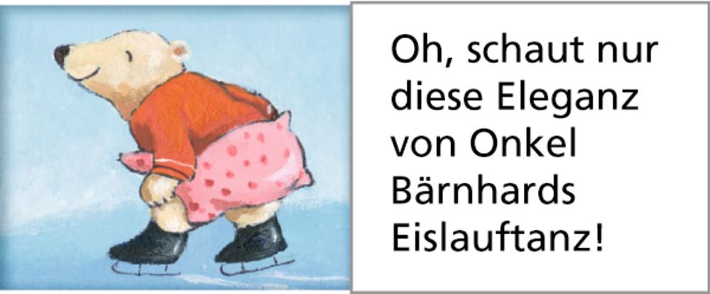 Fröhliche Eisbären-Weihnacht, Wand-Adventskalender