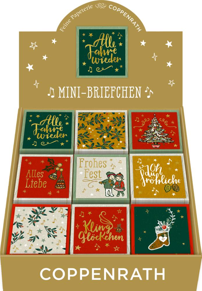 Mini-Briefchen: Wunderbare Weihnachtszeit