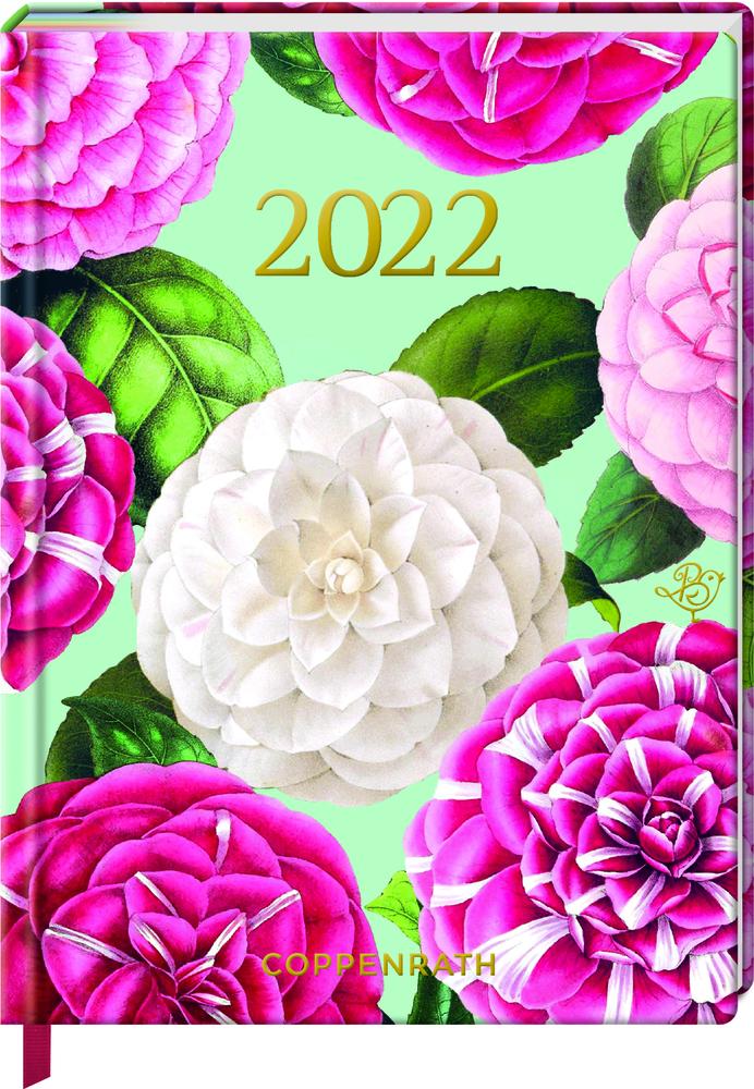 Jahreskalender: Mein Jahr 2022 - Kamelien (B.Behr)