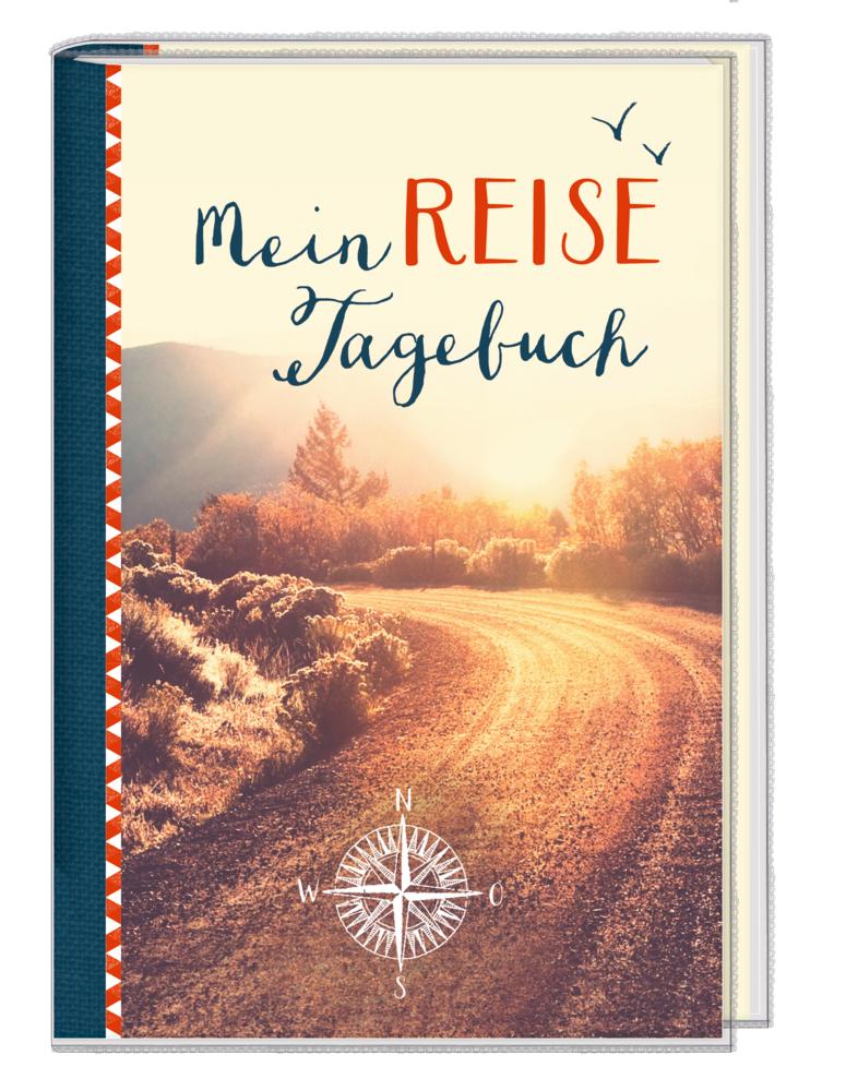 Eintragbuch m. Sammeltasche: Mein Reisetagebuch (Reisezeit)