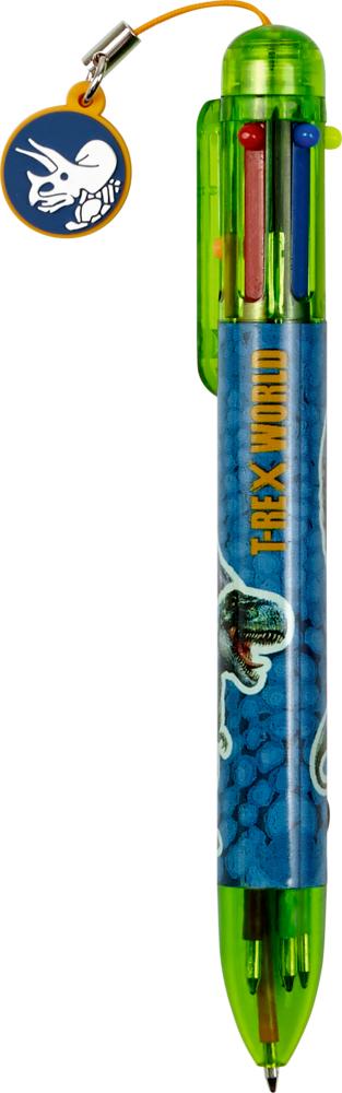 6-Farb-Kuli T-Rex World