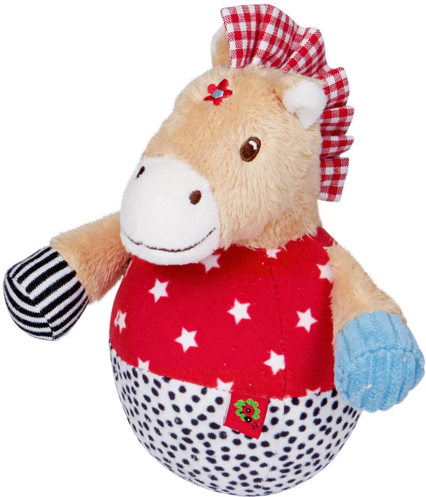 Steh-auf-Pferdchen mit Glockenspiel BabyGlück