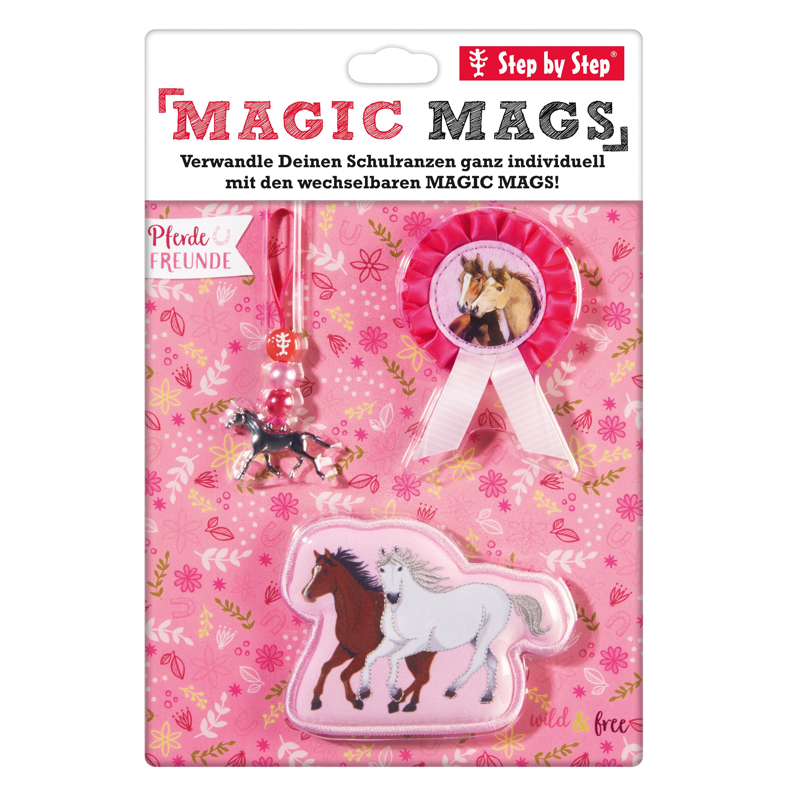 MAGIC MAGS Pferdefreunde (für Ranzen von Step by Step)