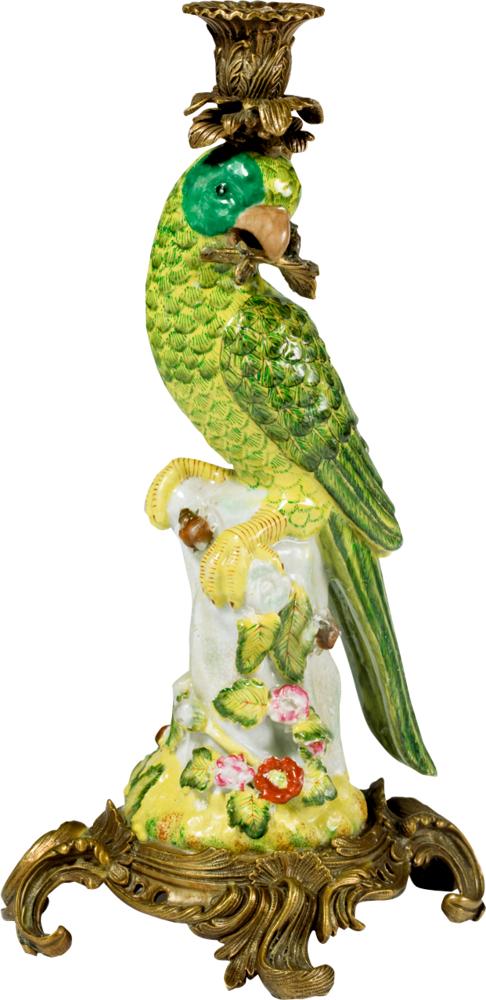 Papageien-Kerzenhalter (rechts schauend) Lieblingsstücke
