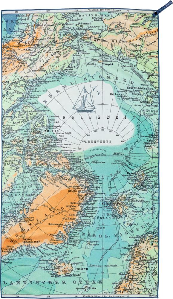 Reise-Badetuch Reisezeit (ca. 75 x 150 cm)