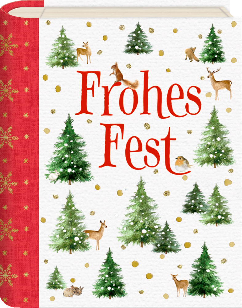Wunscherfüller im Buchformat: Zauberhafte Weihnachten (Bastin)