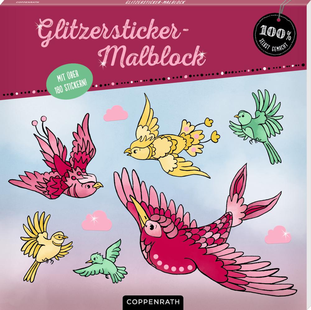 Glitzersticker-Malblock (100% selbst gemacht)