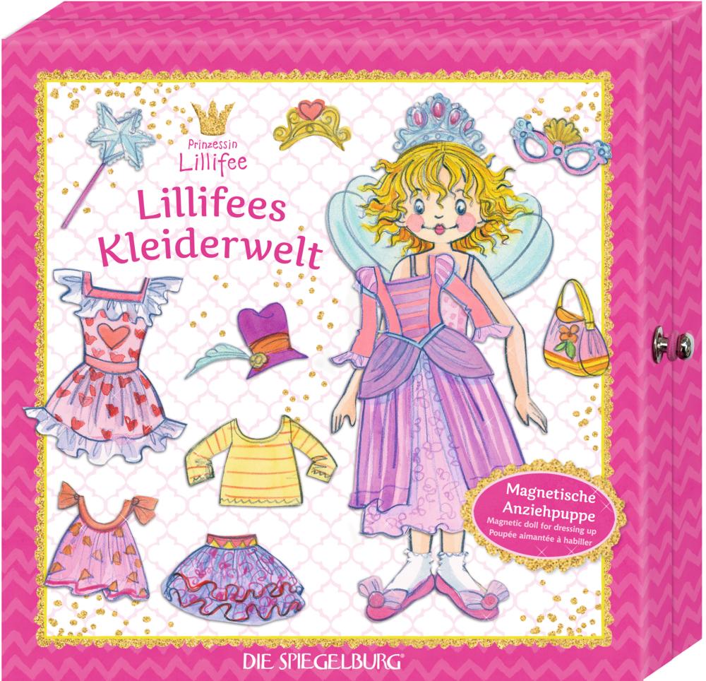 Magnetische Anziehpuppe Lillifees Kleiderwelt - Prinzessin Lillifee