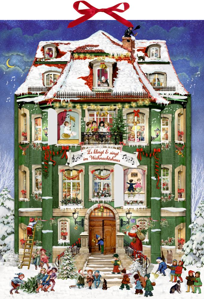 Es klingt und singt im Weihnachtshaus, Sound-Adventskalender (Behr)