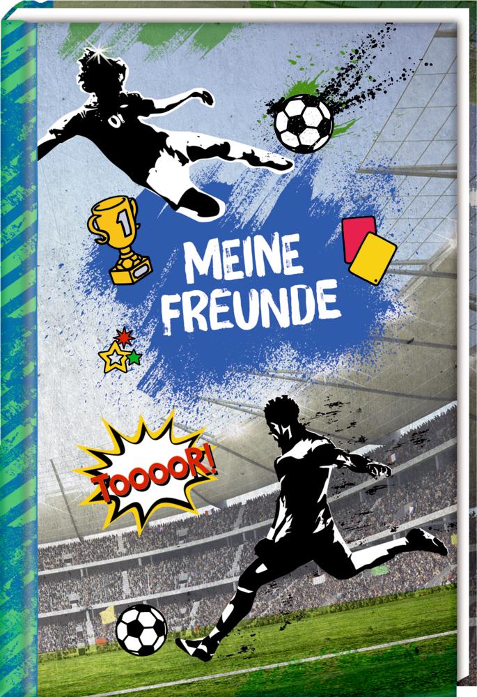 Freundebuch: Meine Freunde - Fußball
