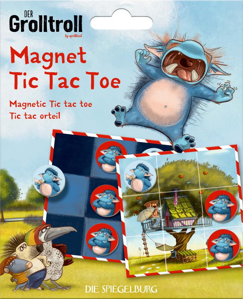"Spiel ""Magnet Tic Tac Toe"" Der Grolltroll"