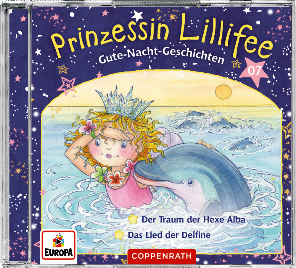 CD Hörspiel: Prinzessin Lillifee - Gute-Nacht-Geschichten (CD 7)