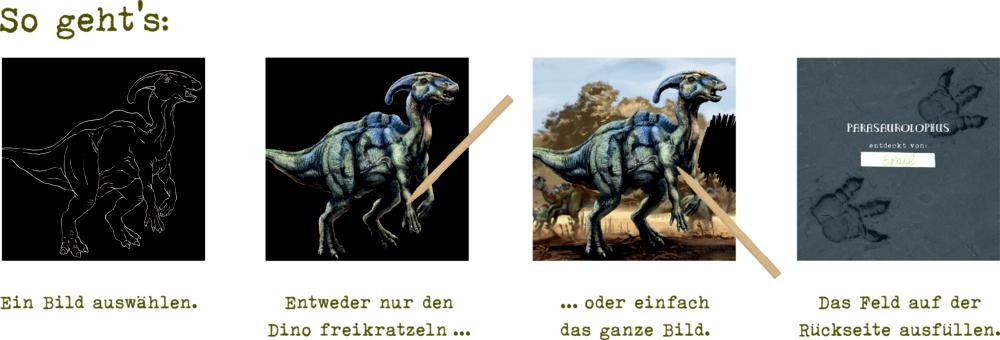 Kritzel-Kratzel-Set (Triceratops) T-Rex World
